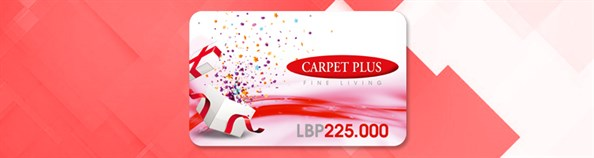 CARPET PLUS Gift Cards
